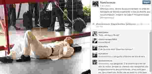 Reprodução/Instagram/franciscosza