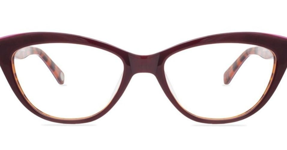 Óculos de grau Strawberry   Tortoise  R  245, da Jaque, na Lema 21  (www.lema21.com.br)   Preço pesquisado em abril de 2014 e sujeito a  alterações Divulgação ... aa95d827ea