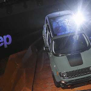 Jeep Renegade - Eric Thayer/AFP