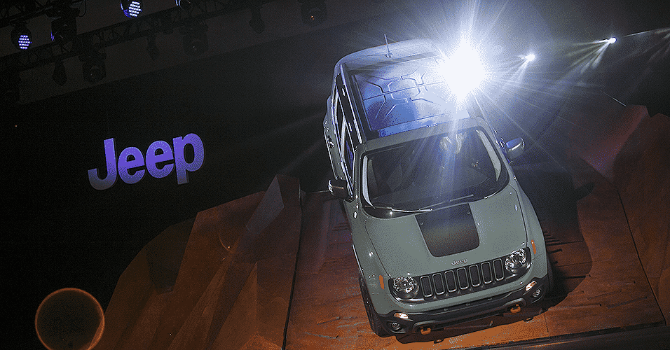 Jeep Renegade - Eric Thayer/AFP