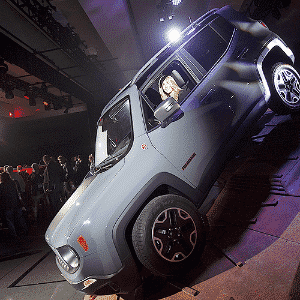 Jeep Renegade - Carlo Allegri/Reuters