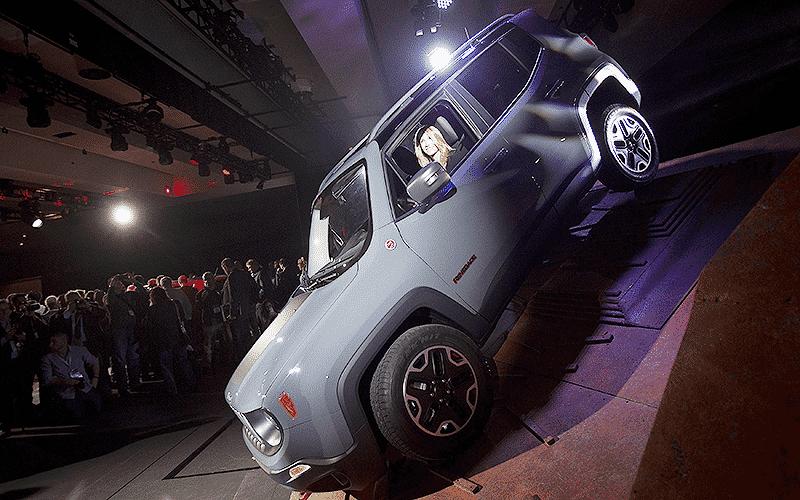 Jeep Renegade - Carlo Allegri/Reuters