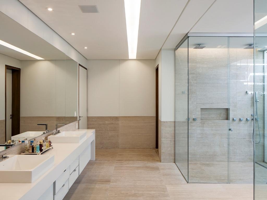 Banheiros Decorados Com Duas Cubas : Bancada de banheiro com duas cubas conhea as diversas