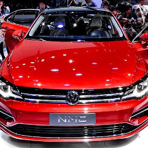 Volkswagen NMC Concept - Wang Haofei/Xinhua