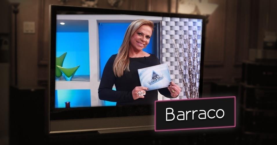 """O barraco é um dos temas mais populares na televisão. Christina Rocha retrata os mais variados problemas do dia a dia de pessoas comuns no """"Casos de Família"""", do SBT, com a ajuda de um psicólogo e da plateia"""