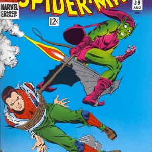 Capa de gibi do Homem-Aranha com Duende Verde - Reprodução