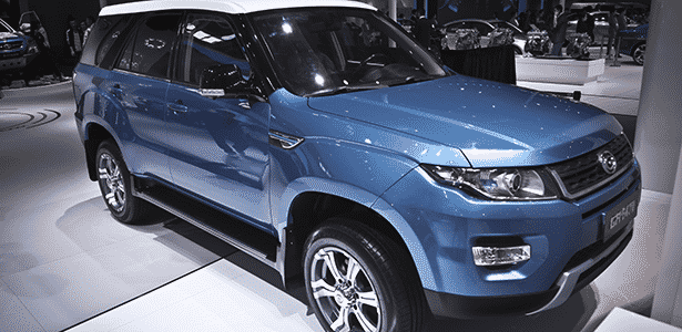 Cópia chinesa do Range Rover Evoque - Claudio Luís de Souza/UOL - Claudio Luís de Souza/UOL