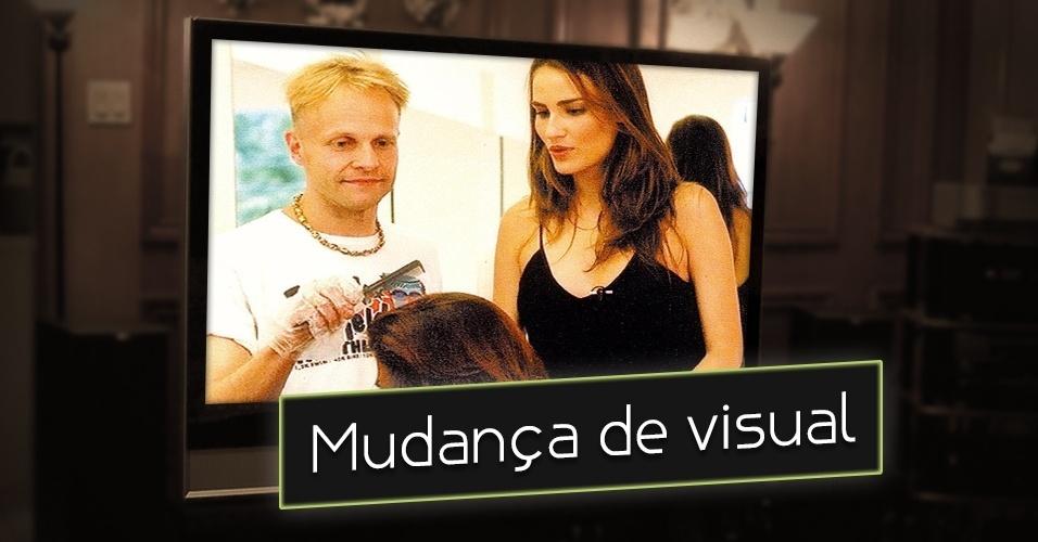 """Em 2005, ao lado do """"colorista"""" Juha Antero, a top Fernanda Tavares apresentava o programa """"Missão MTV"""". O objetivo? Levar um anônimo a um salão de cabeleireiro, deixá-lo comprar apenas um look e mudar o visual. Sim, você já viu isso antes"""