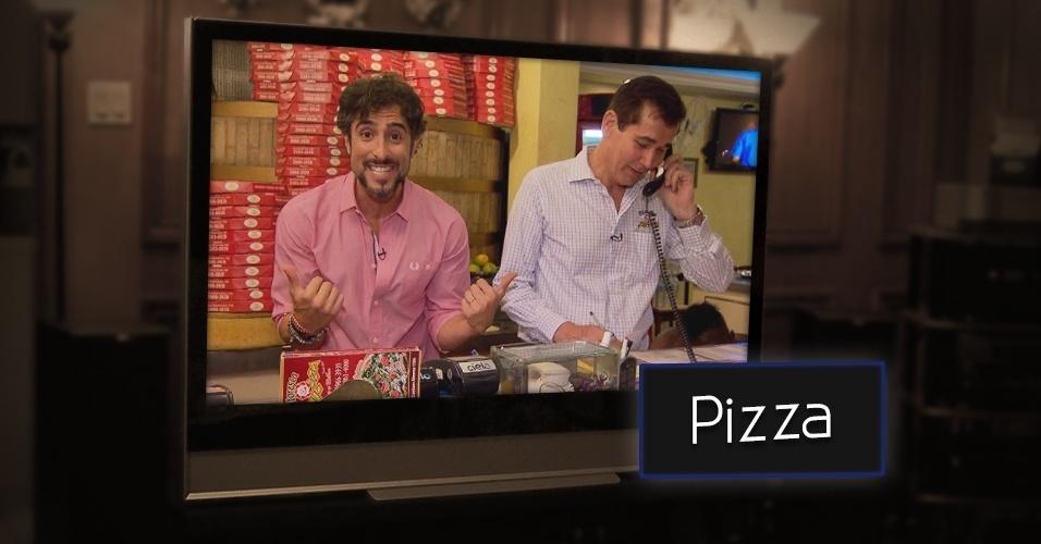 """Entregar pizza para anônimos e realizar sonhos, você já viu isso na TV inúmeras vezes. O formato foi criado pela produtora israelense da Armoza. Depois de Luciano Huck, Marcos Mion também estreou o quadro """"Legendários na sua Casa"""", exibido na Record"""