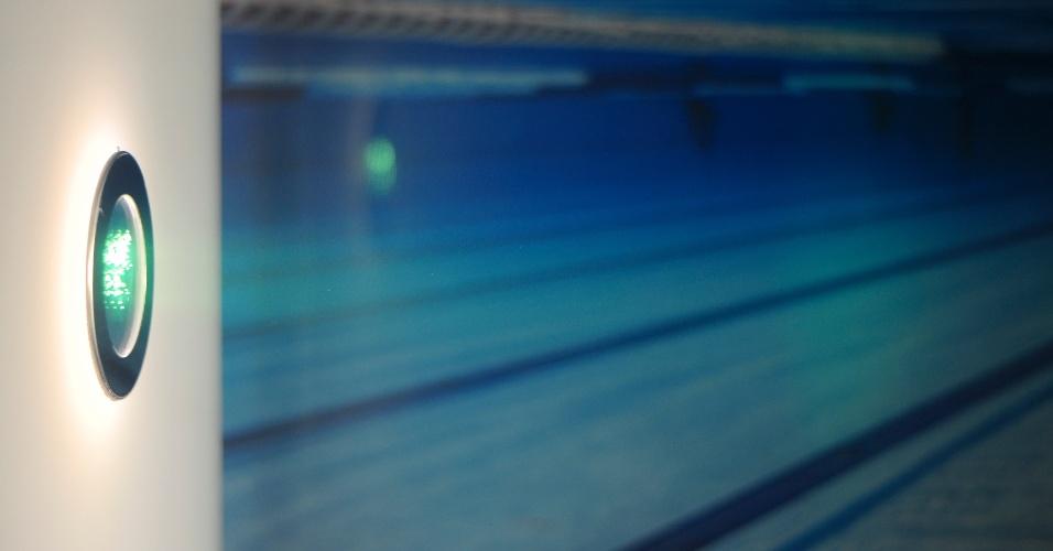 Luminárias subaquáticas com LEDs para piscinas também foram apresentadas pela Interlight (www.interlight.com.br) durante a 14ª Expolux (Feira Internacional da Indústria da Iluminação) promovida em São Paulo de 22 a 26 de abril de 2014. Os produtos têm 8 watts de potência