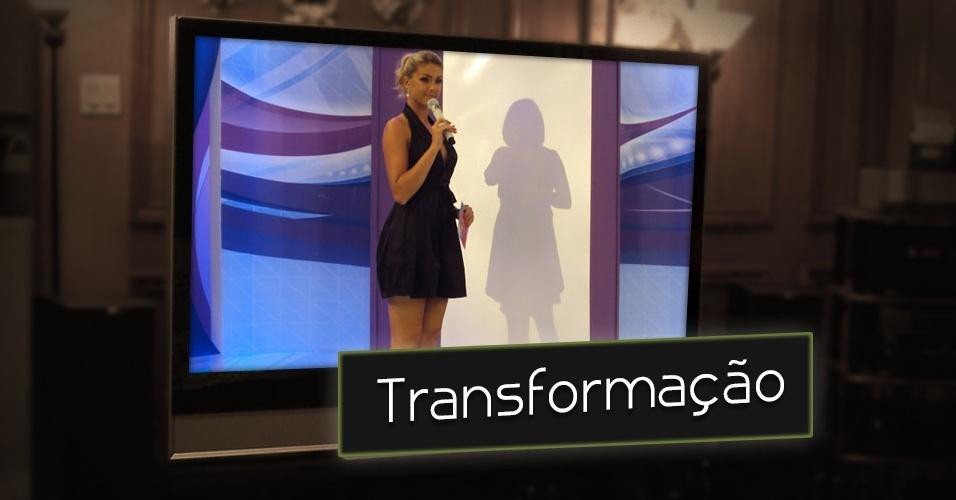 """No """"Tudo é Possível"""", que foi apresentado de 2005 a 2012, Ana Hickmann também se valeu da audiência de quadros de mudança de visual como o """"Toda mulher é uma Diva"""". Mulheres passavam por tratamentos estéticos, ganhavam uma repaginada no visual e ainda é tinham um dia de diva no palco da atração"""