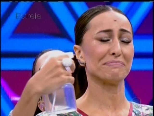 26.abril.2014 - Anitta durante a estreia do