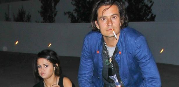 2014 - Selena Gomez e Orlando Bloom são fotografados juntos em Los Angeles - AKM-GSI