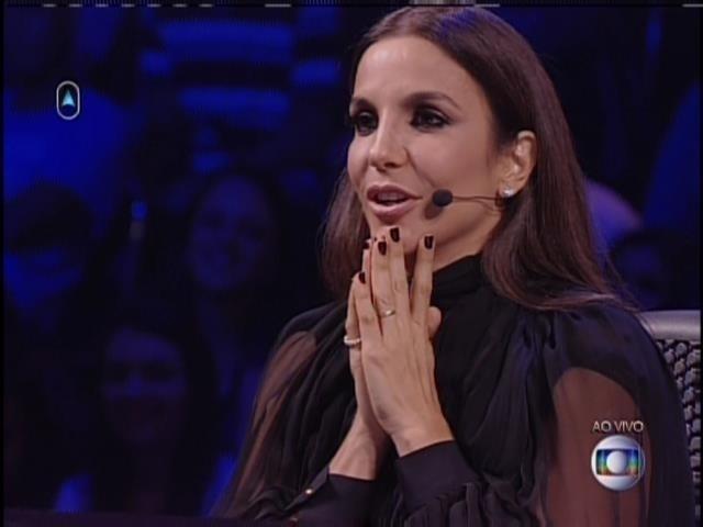 """27.abril.2014 - Jurada do """"SuperStar"""", Ivete Sangalo disse que nunca viu uma banda indie"""