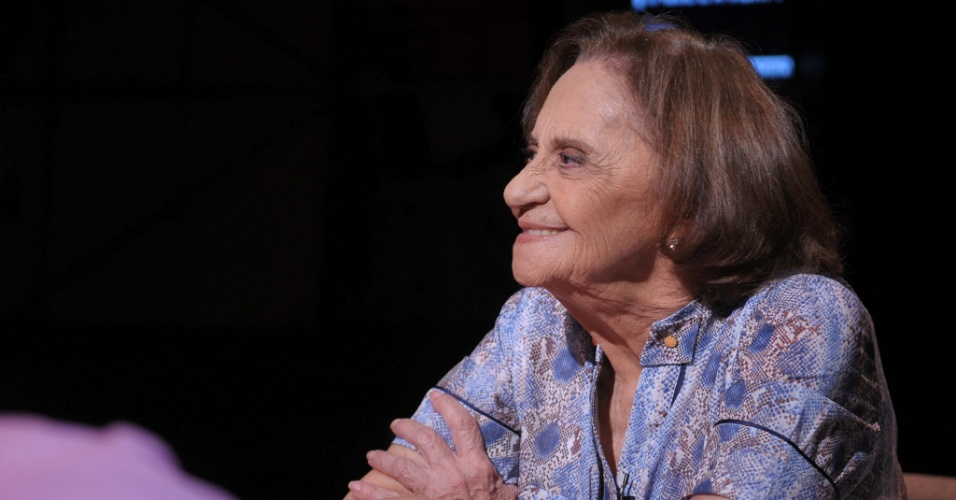 """28.abr.2014 - Laura Cardoso no """"Provocações"""""""