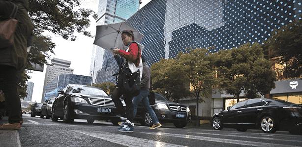 Carros em Xangai - Guilber Hidaka/UOL - Guilber Hidaka/UOL