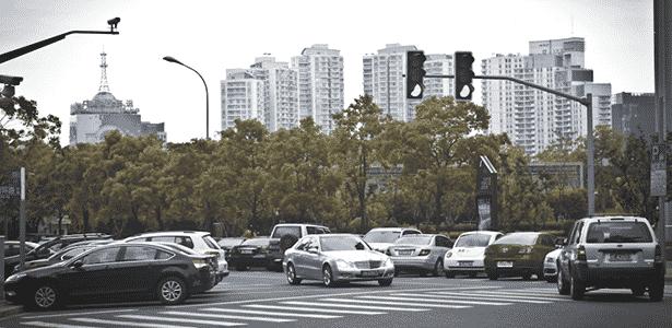 Carros em Xangai 2 - Guilber Hidaka/UOL - Guilber Hidaka/UOL
