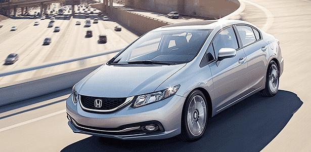 Honda Civic 2014 americano - Divulgação - Divulgação