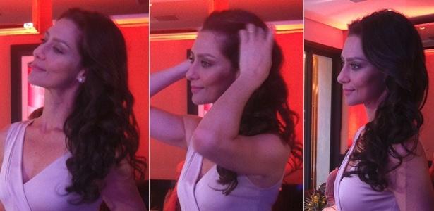 29.abr.2014 - Maria Fernanda Cândido fala sobre beleza em evento realizado na capital paulista - Bianca Iaconelli/UOL