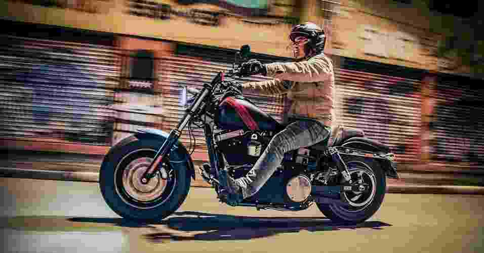 Harley-Davidson Fat Bob 2014 - Renato Durães/Infomoto