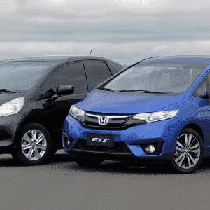 Honda Fit 2014 e 2015 - Murilo Góes/UOL