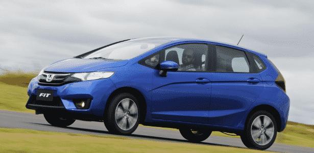 Honda Fit EXL 2015 - Murilo Góes/UOL - Murilo Góes/UOL