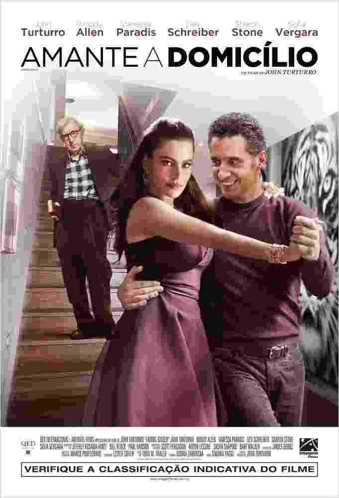 """Pôster do filme """"Amante a Domicílio"""", do diretor John Turturro - Divulgação/Imagem Filmes"""