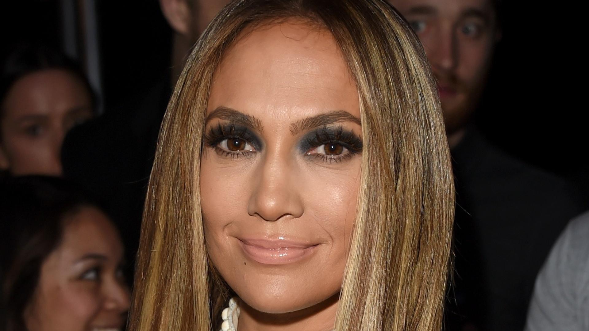 1.mai.2014 - Jennifer Lopez na primeira edição do iHeartRadio Music Awards, em Los Angeles, nos Estados Unidos