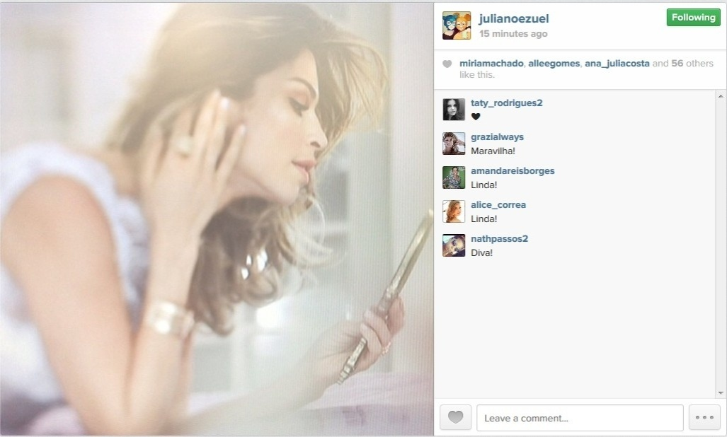 03.maio.2014 - Grazi Massafera realiza ensaio sensual para campanha publicitária. As belas fotos da atriz, que estamparão um catálogo de moda, foram feitas na tarde deste sábado (3), em São Paulo