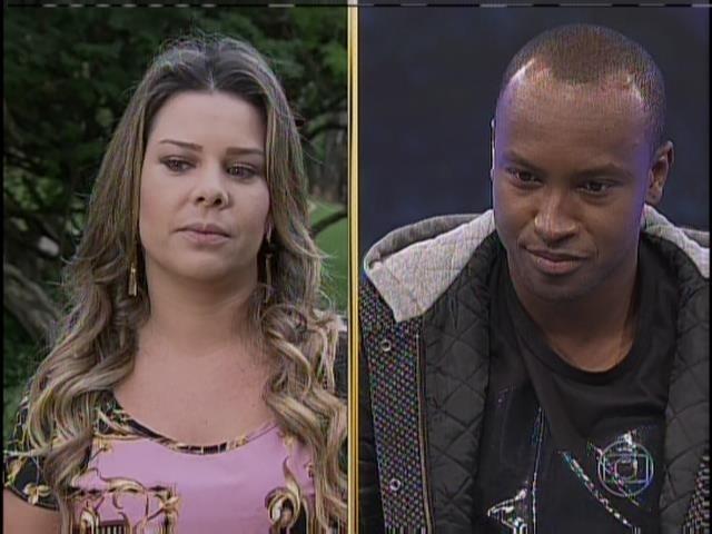 4.maio.2014 - Fernanda Souza e Thiaguinho no