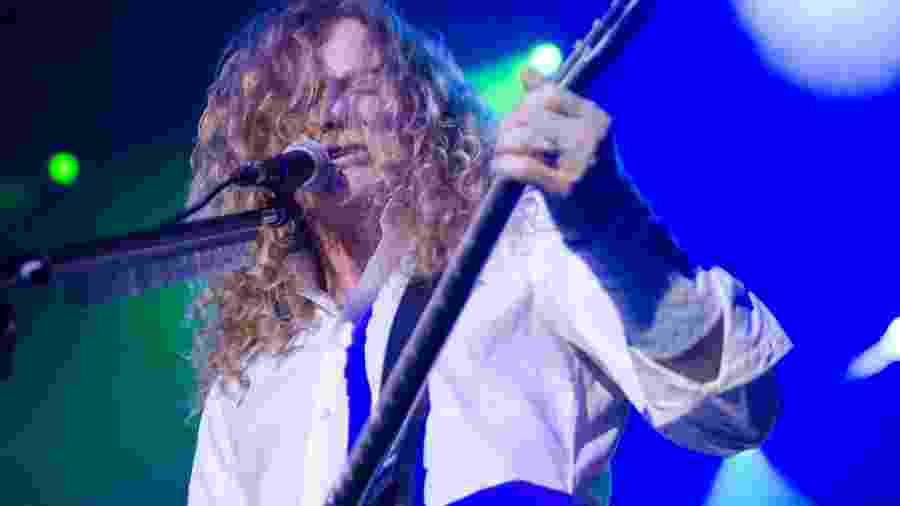 Dave Mustaine  - Edi Fortini/UOL