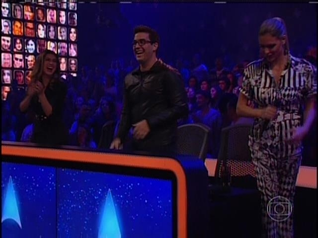 5.maio.2014 - Fernanda Paes Leme, André Marques e Fernanda Lima no