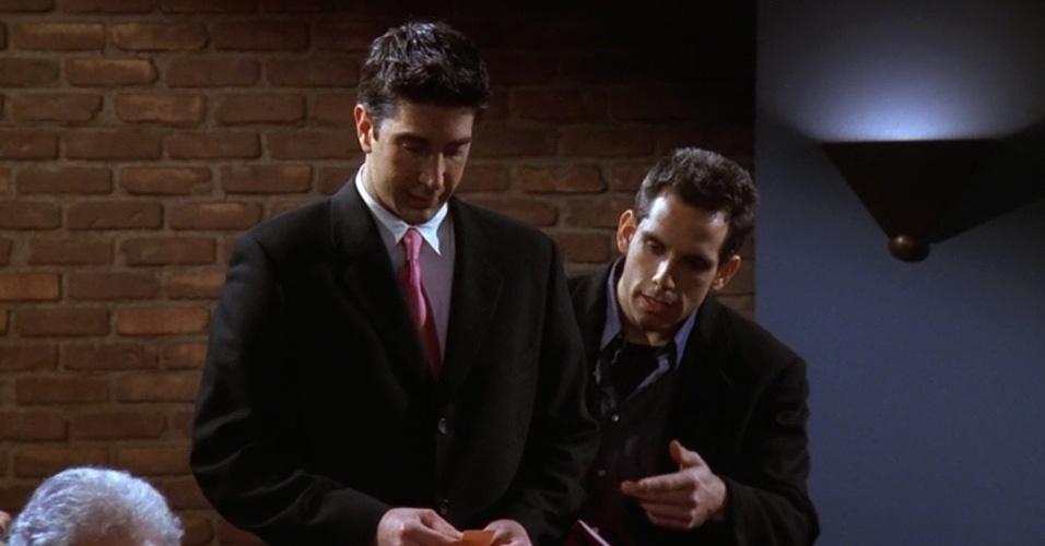 Ben Stiller interpretou Tommy, um namorado louco de Rachel que tinha o hábito de gritar com as pessoas