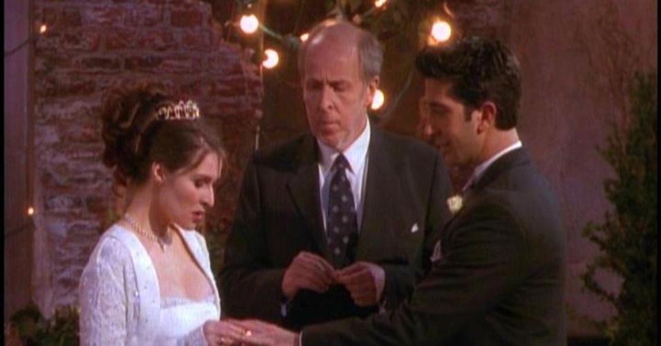 """Casamento de Ross em """"Friends"""""""