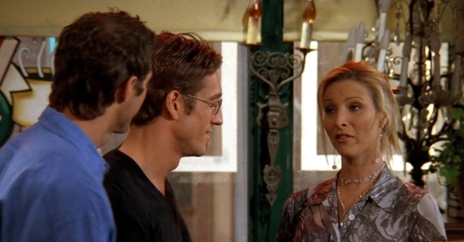 Cena de Phoebe (Lisa Kudrow) em Friends
