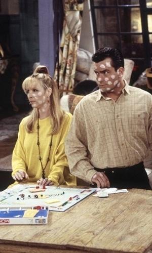 Charlie Sheen fez o papel de Ryan, militar e affair de Phoebe que passa duas semanas com ela, mas contrai catapora