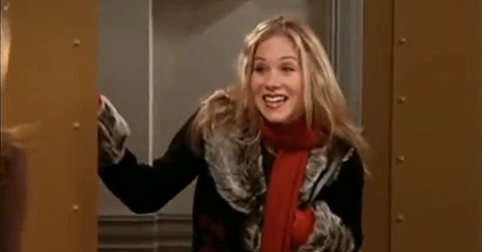 Christina Applegate surgiu como Amy, uma das irmãs de Rachel