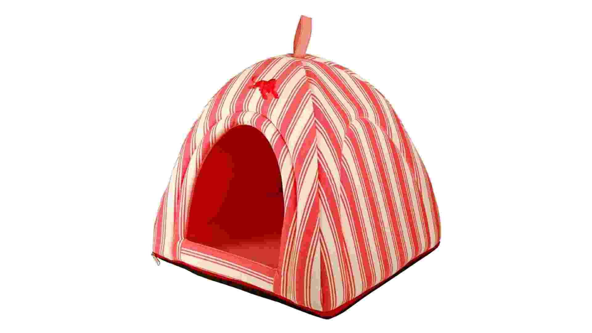Feita de poliéster e algodão, a cama é perfeita para animais pequenos. À venda na Millie Signature (www.millie.com.br) por R$ 299,88 | Preço pesquisado em abril de 2014 e sujeito a alterações - Divulgação