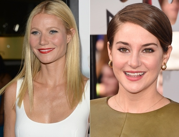 """Gwyneth Paltrow (à esq.) e Shailene Woodley são algumas das famosas adeptas do """"oil pulling"""" - Getty Images"""