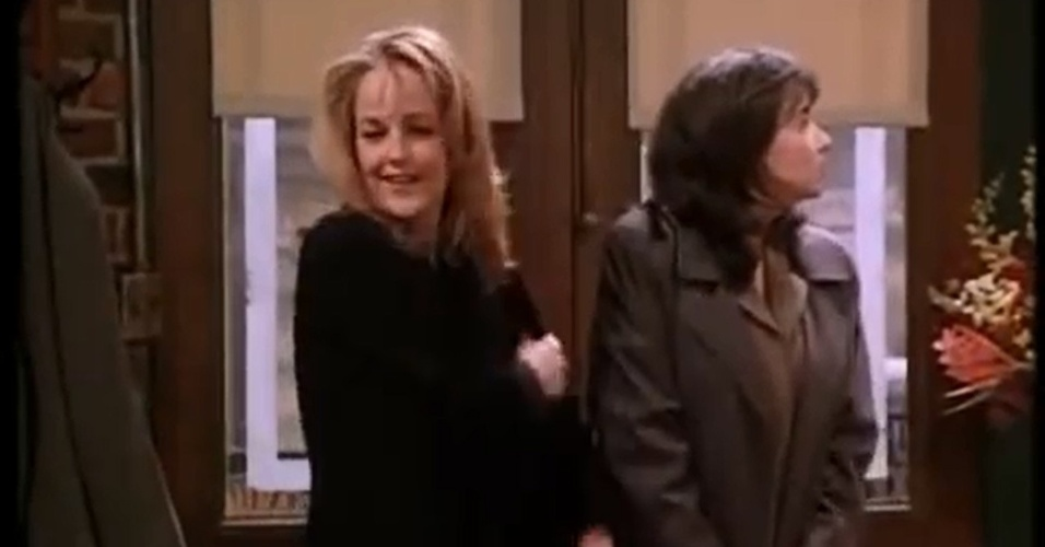 "Helen Hunt reprisou seu papel de Jamie Buchanan, da sitcom ""Mad About You"", em ""Friends"""