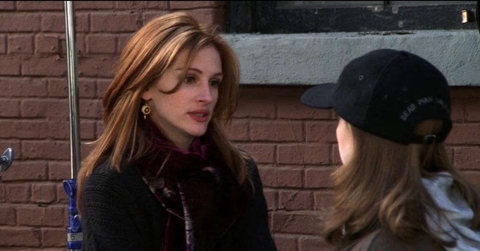 Julia Roberts participou da série como Susie Moss, antiga colega de Chandler que saía com ele para se vingar do fato de ele ter levantado sua saia em uma peça de escola