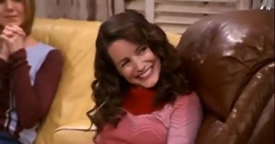 """Kristin Davies, a Charlotte de """"Sex and The City"""", foi Erin, uma das namoradas de Joey"""