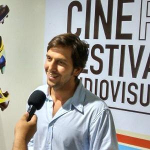 """O ator Vladimir Brichta no Cine PE. Seu longa """"Muitos Homens num Só"""" levou dez estatuetas"""