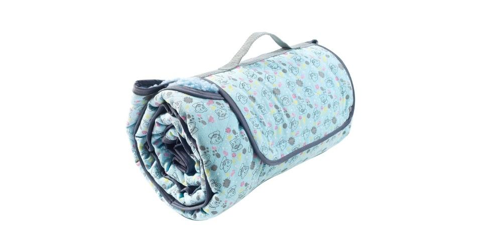 f4c41b8b53 O tapetinho de algodão serve para acomodar animais de pequeno porte. À  venda no Shoptime