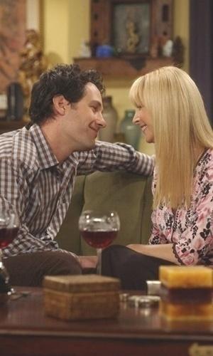 """Paul Rudd esteve em """"Friends"""" por vários episódios na pele de Mike, namorado de Phoebe"""