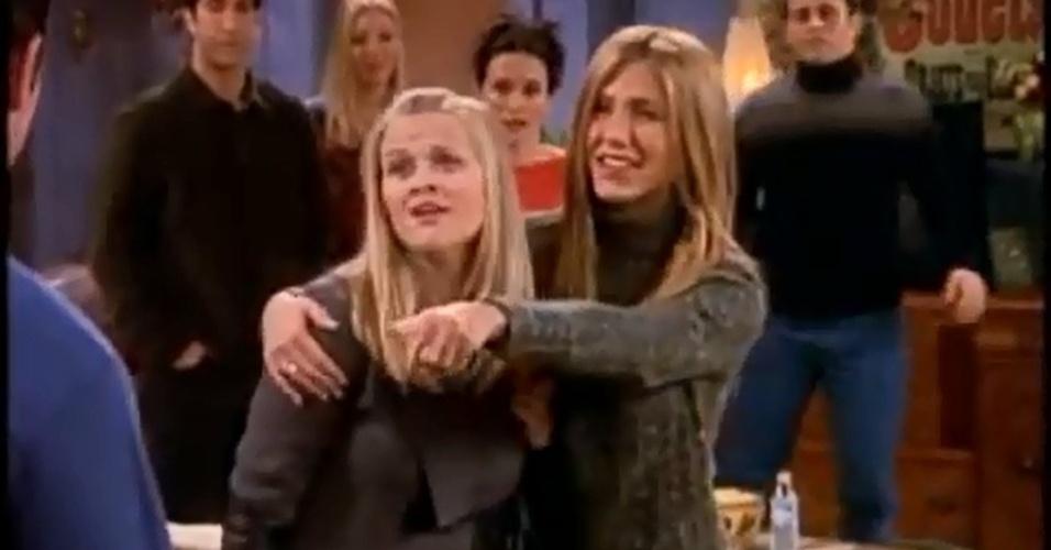 Reese Whiterspoon fez o papel de Jill, outra irmã de Rachel