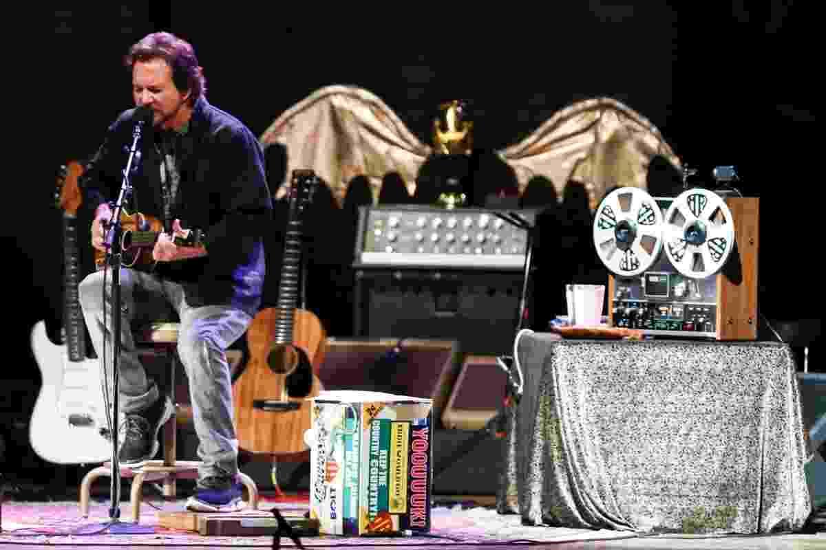 6.mai.2014 - Eddie Vedder faz primeiro show da turnê brasileira em São Paulo - Roberta Moreira