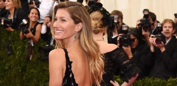 Gisele Bündchen: a brasileira faturou 47 milhões de dólares só nos últimos doze meses - Getty Images