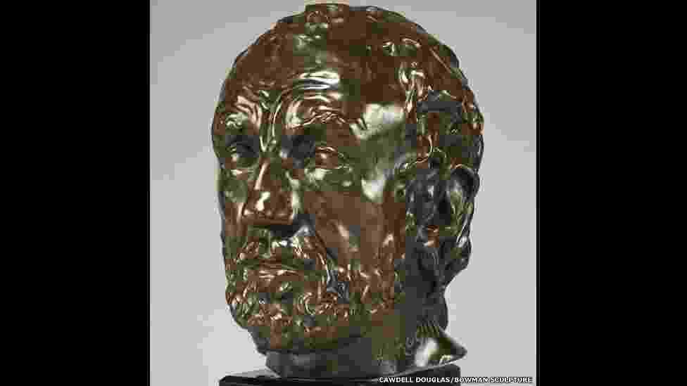 """Rodin considerava """"O Homem de Nariz Quebrado"""" como sua primeira grande obra. Esta e outras esculturas podem ser vistas na exposição """"Rodin - In Private Hands"""", na sala Bowman Sculpture, em Londres, até 31 de julho - Bowman sculpture/Cawdell Douglas"""