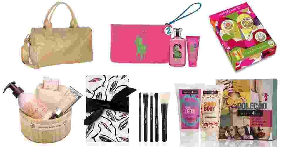 Beleza - Kits para o Dia das Mães - abre - Divulgação